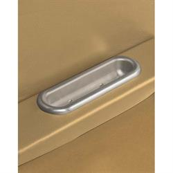 Lokar IDP-2004 Brushed Billet Arm Rest Door Pulls, Pair