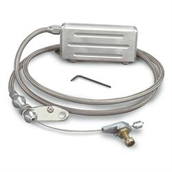 Lokar KDP-2400HT Polished Hi-Tech TH-400 Electric Kickdown Cable Kit