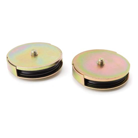 Lokar S-2105 1/2 Inch Shielded Pulley Assembly, Pair