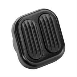 Lokar XBAG-6006 Midnight Series Billet Dimmer Switch Cover w/Rubber