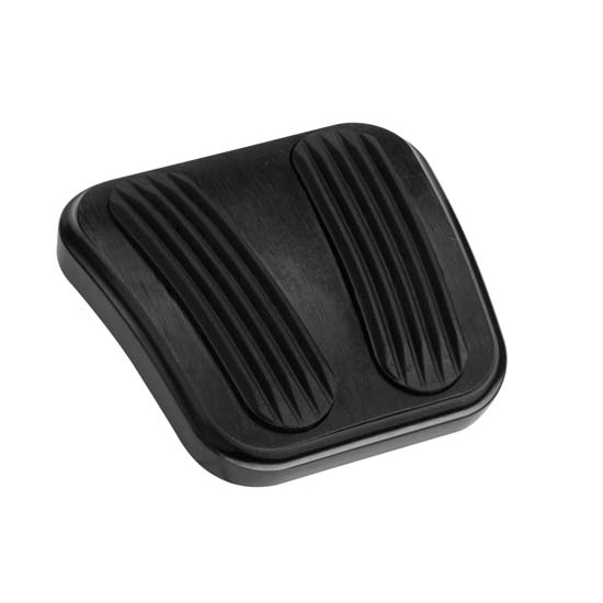 Lokar XBAG-6160 Midnight Series 69-74 Nova E-Brake Pedal Pad w/Rubber