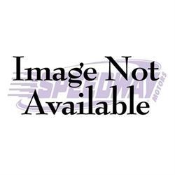 Lokar XBAG-6163 Midnight Series 64-75 Chevelle E-Brake Pedal Pad w/Rub
