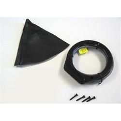 Lokar XCINB-1734 Midnight Series Vert Round LED Shifter Boot Kit, GM
