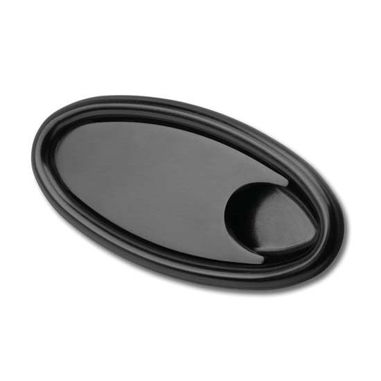 lokar xidh 2000 midnight series billet alum oval interior door handles. Black Bedroom Furniture Sets. Home Design Ideas