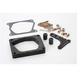 Lokar XTCB-40EDC Midnight Series Edelbrock Pro-Flo Injection Spacer