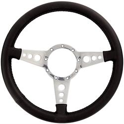 Lecarra 42201 14 Inch Mark 4 GT Steering Wheel Black Leather Wrap