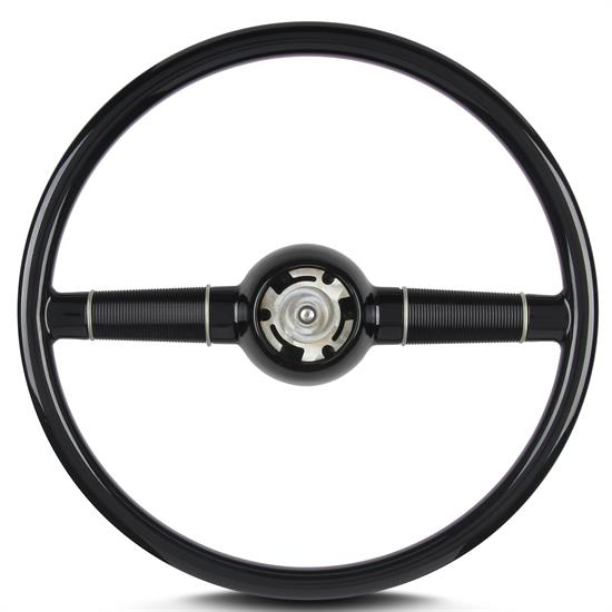 Lecarra 74000 15 Inch Dished Steering Wheel, Mark 40, Unpainted