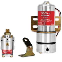 Mallory 29209 Model 140 Fuel Pump with Non,Bypass Regulator