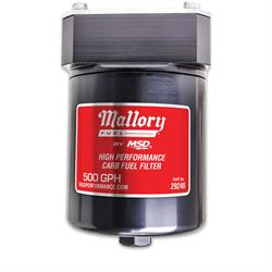 Mallory 29246 High Performance Fuel Filter