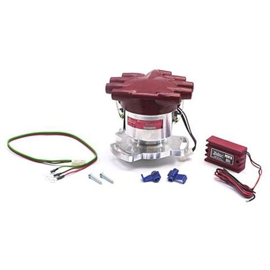 mallory ignition 5072101 3241 flathead 3 bolt electronic distributor