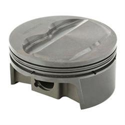 MAHLE Small Block Chevy 400 Flat Top Powerpak Pistons, 5.7 Inch Rods