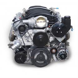 March Performance 19925-08 GM LS Serpentine Kit, Low Clearance
