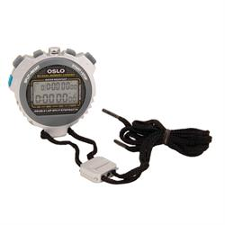 Robic 67764 Oslo Silver 60 Dual Memory Stopwatch w/ Timer/Temperature
