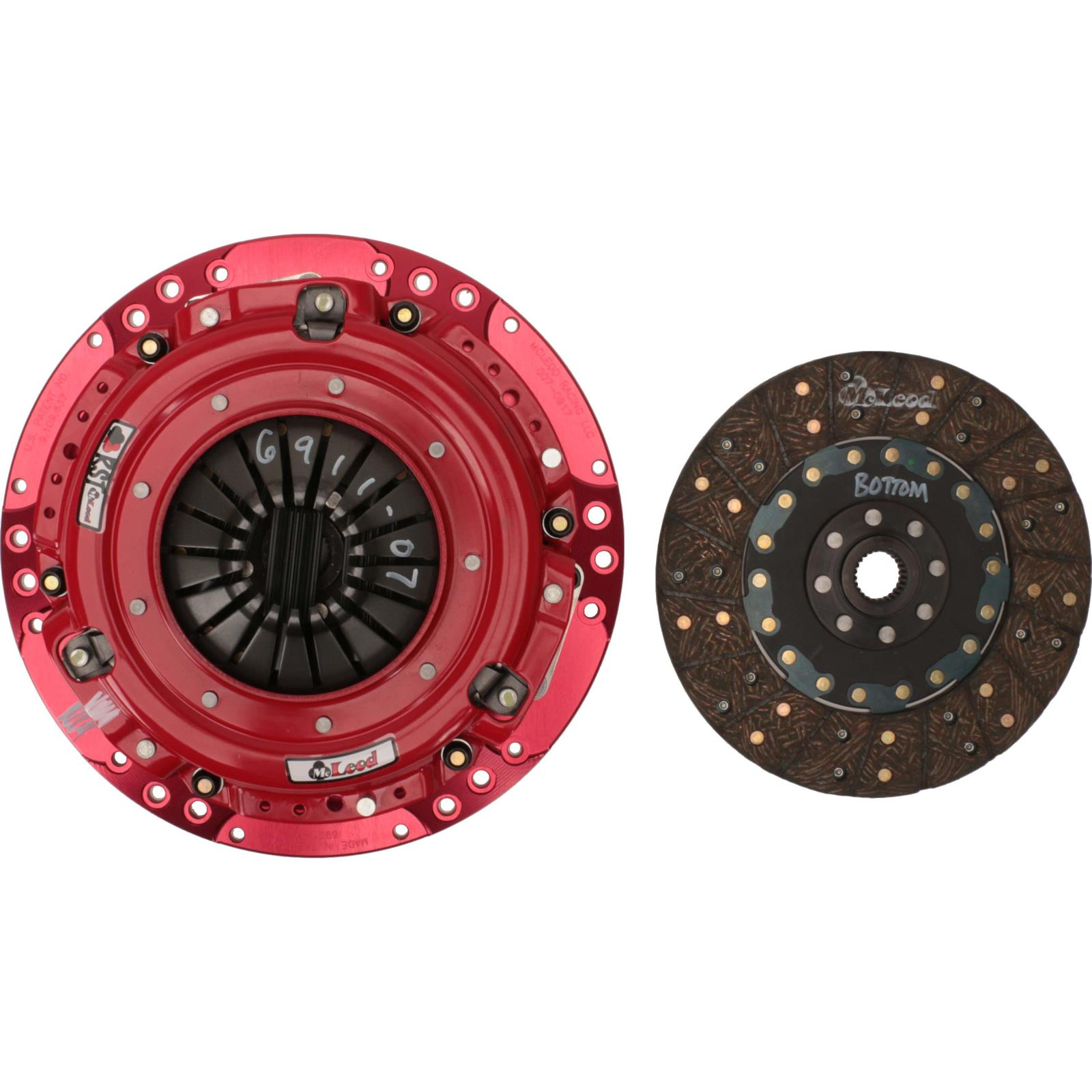 10.5in X 1-1//8 X 10 Spline McLeod Racing 260650 Disc Dual Performance Sprung Hub