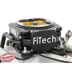 FiTech 30254 Go Port EFI Fuel Injection System, BBC, Satin