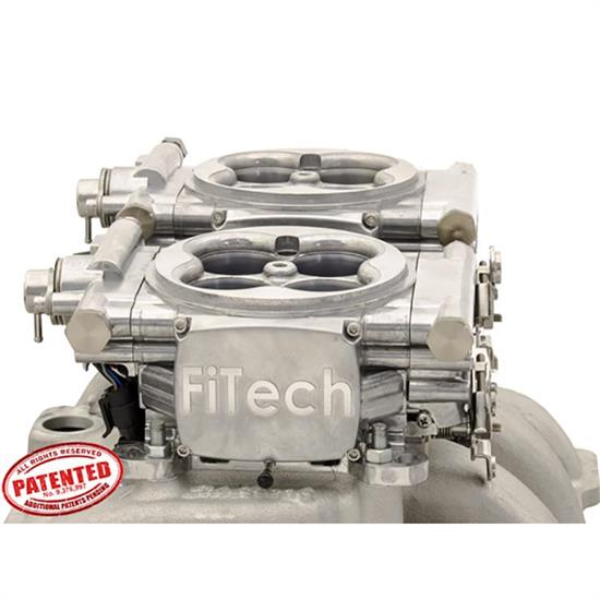 FiTech 31061 Go EFI 2x4 Dual Quad Fuel Injection System, 625 HP