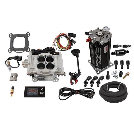 FiTech 32201 Go EFI 4 Fuel Injection System, Polished