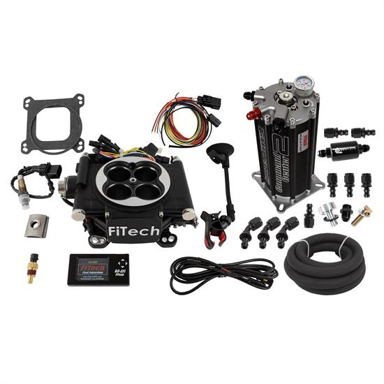 FiTech 32202Go EFI 4 Fuel Injection System, Matte Black