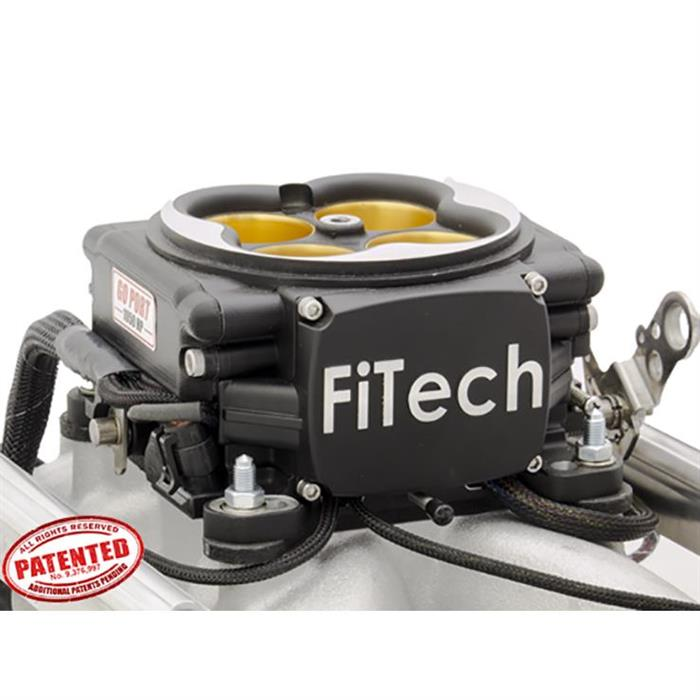 FiTech 32458 Go Port EFI Fuel Injection System, 351W, 500-1050 HP