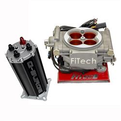 FiTech Go EFI Fuel Injection System Kit w/G-Surge Tank, 400 HP
