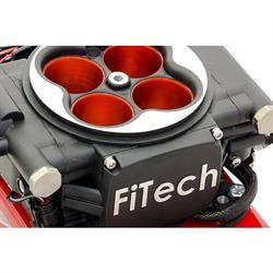 FiTech Go EFI 4 Fuel System Kit w/G-Surge Tank, 600 HP, Power Add