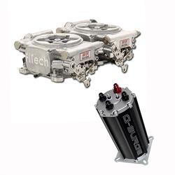 Go EFI 2x4 Dual-Quad Fuel Injection System Kit w/G-Surge Tank