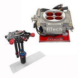 FiTech Go EFI 4 Fuel System Kit w/Hy-Fuel Tank, 400 HP
