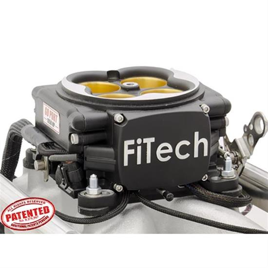 FiTech 37854 Go Port EFI Fuel Injection System, SBC, 200-550 HP