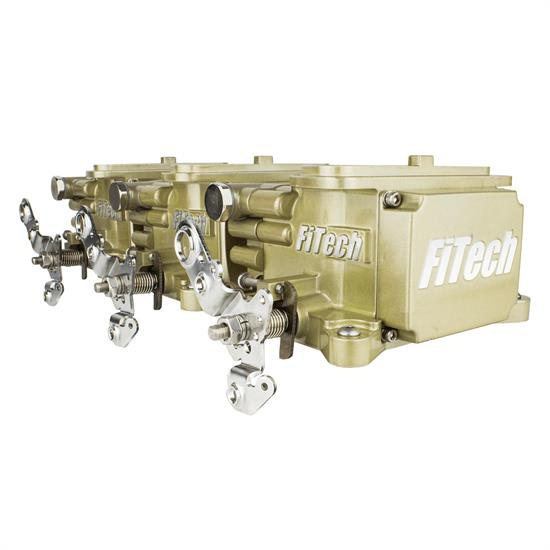 FiTech 39610 Go EFI Tri-Power Throttle Body 600HP System