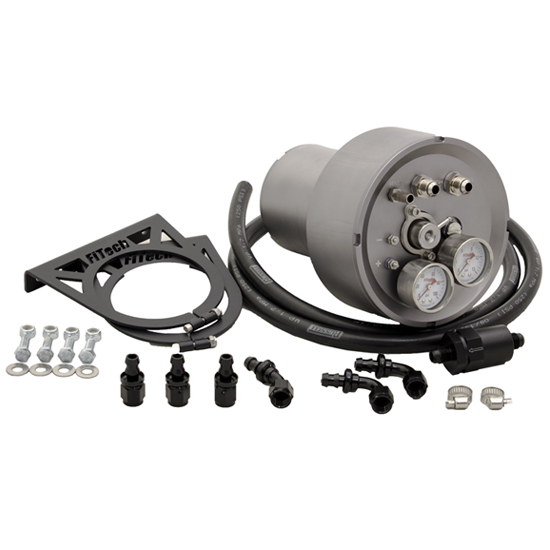 FiTech 40003 Fuel Command Center with Fuel Sump Tank on