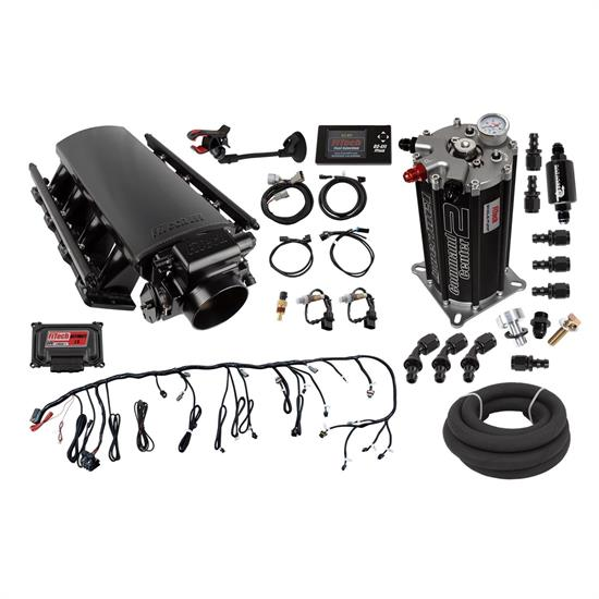 FiTech 72201 Ultimate LS1/LS2/LS6 Induction System, 500HP