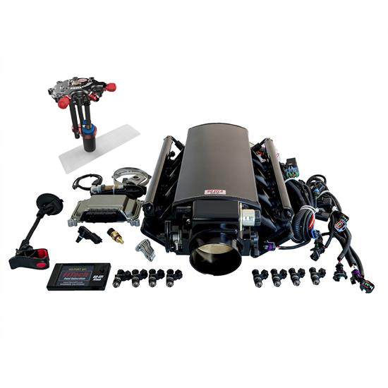 FiTech Ultimate LS EFI Fuel Injection System w/Hy-Fuel Tank, 750