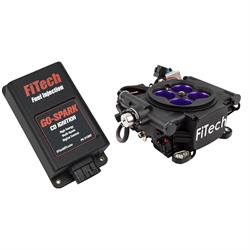 FiTech 93008 Mean Street 800 HP EFI System Black Finish,w/CDI box