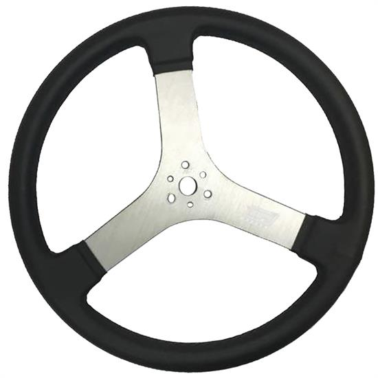 Max Papis Innovations MPI-DR-15 Flat Steering Wheel, 15 Inch