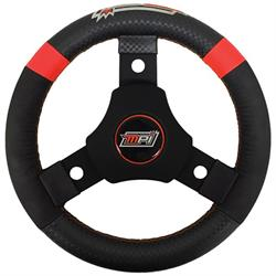 Max Papis Innovations MPI-KQR-11 Round QM Steering Wheel, 11 Inch
