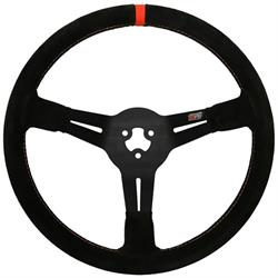 Max Papis Innovations MPI-BL-14-A 3-Hole Steering Wheel, 14 Inch