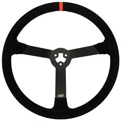 Max Papis Innovations MPI-LM-15 3-Hole Steering Wheel, 15 Inch