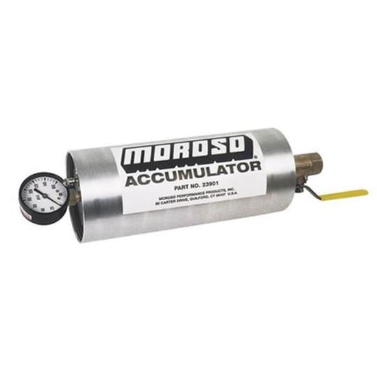 Moroso 23901 Oil Accumulator, 1.5 Quart Capacity