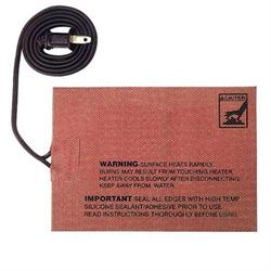 Moroso 23996 External Self-Adhesive Heating Pad, 5 x 7 Inch, 400 Watt