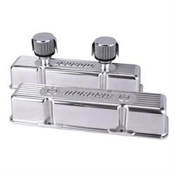 Moroso 68370 Tall Aluminum Valve Covers w/ Breathers