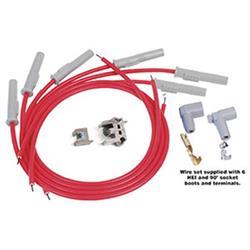 MSD 31179 Super Conductor Plug Wires, Multi-Angle Plug, Socket, HEI