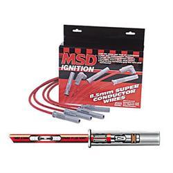 MSD 31459 Super Conductor Plug Wires Chevy Corvette 350 TPI