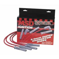 MSD 31809 Super Conductor Plug Wires Chevy 454 88-On