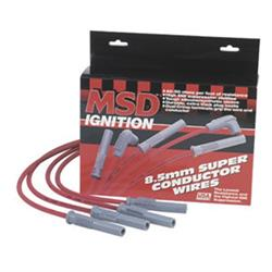 MSD 32289 Super Conductor Plug Wires, Ford Mustang 3.8L, V6, 94-98