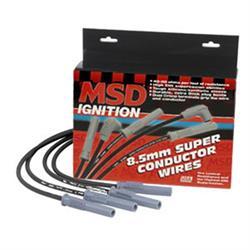 MSD 32343 Black Super Conductor Acura, Integra, 1.8L Vtec