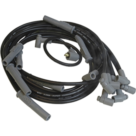 MSD 32733 Wire Set, SC Blk, Chry. 383-440 HEI for MSD Dist.