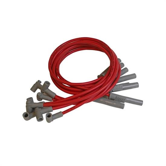 MSD 32739 Super Conductor Plug Wires, Chry. 383-440 HEI for MSD Dist.