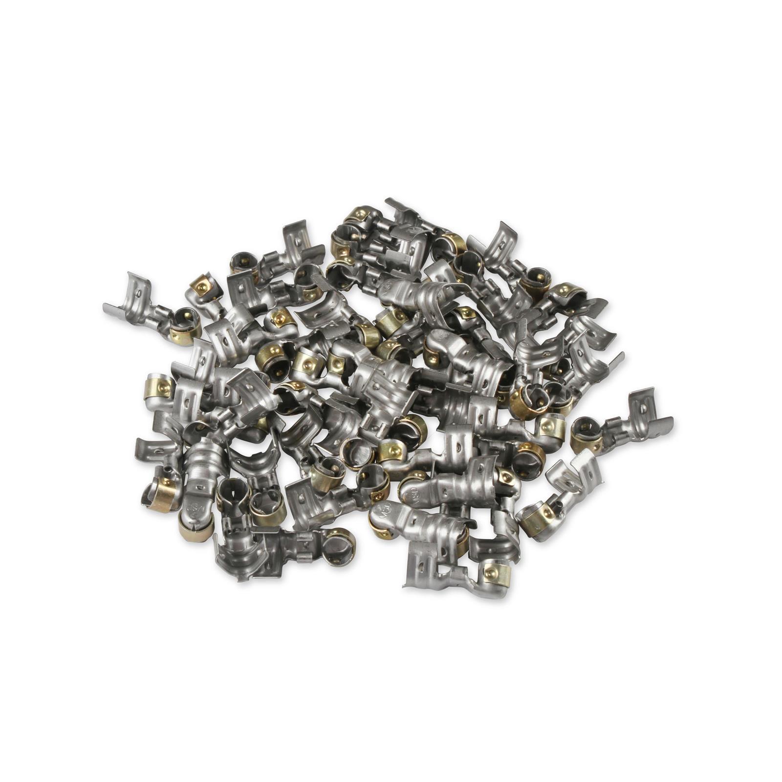 5 Steel 45 degree Spark Plug Terminals