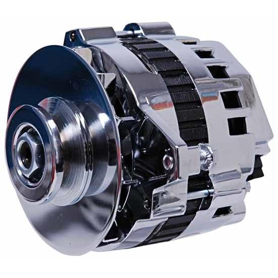MSD 5362 5362 - Dynaforce Alternator 160 AMP Chrome