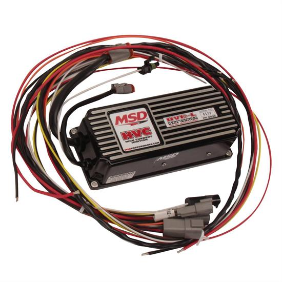 MSD 6632 6 HVC CDI Ignition Box with Soft Touch Rev Contol | Hvc 6600 Wiring Diagram Ignition |  | Speedway Motors